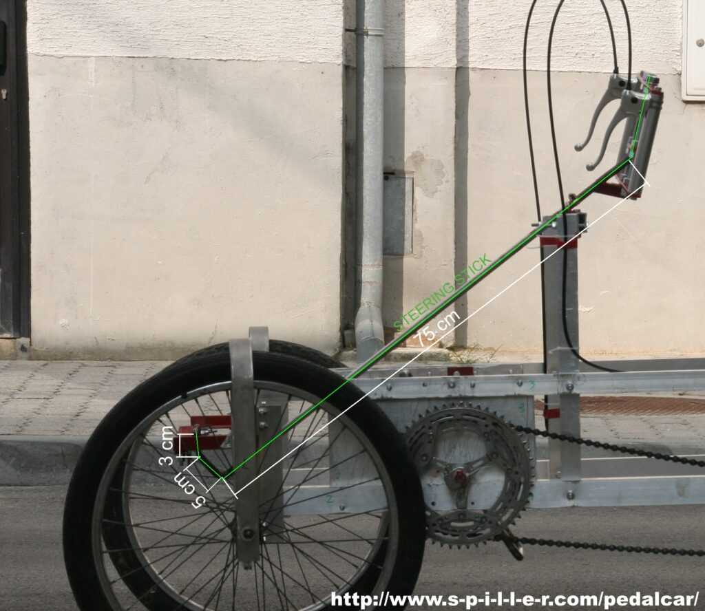 4 Wheel Bike steering