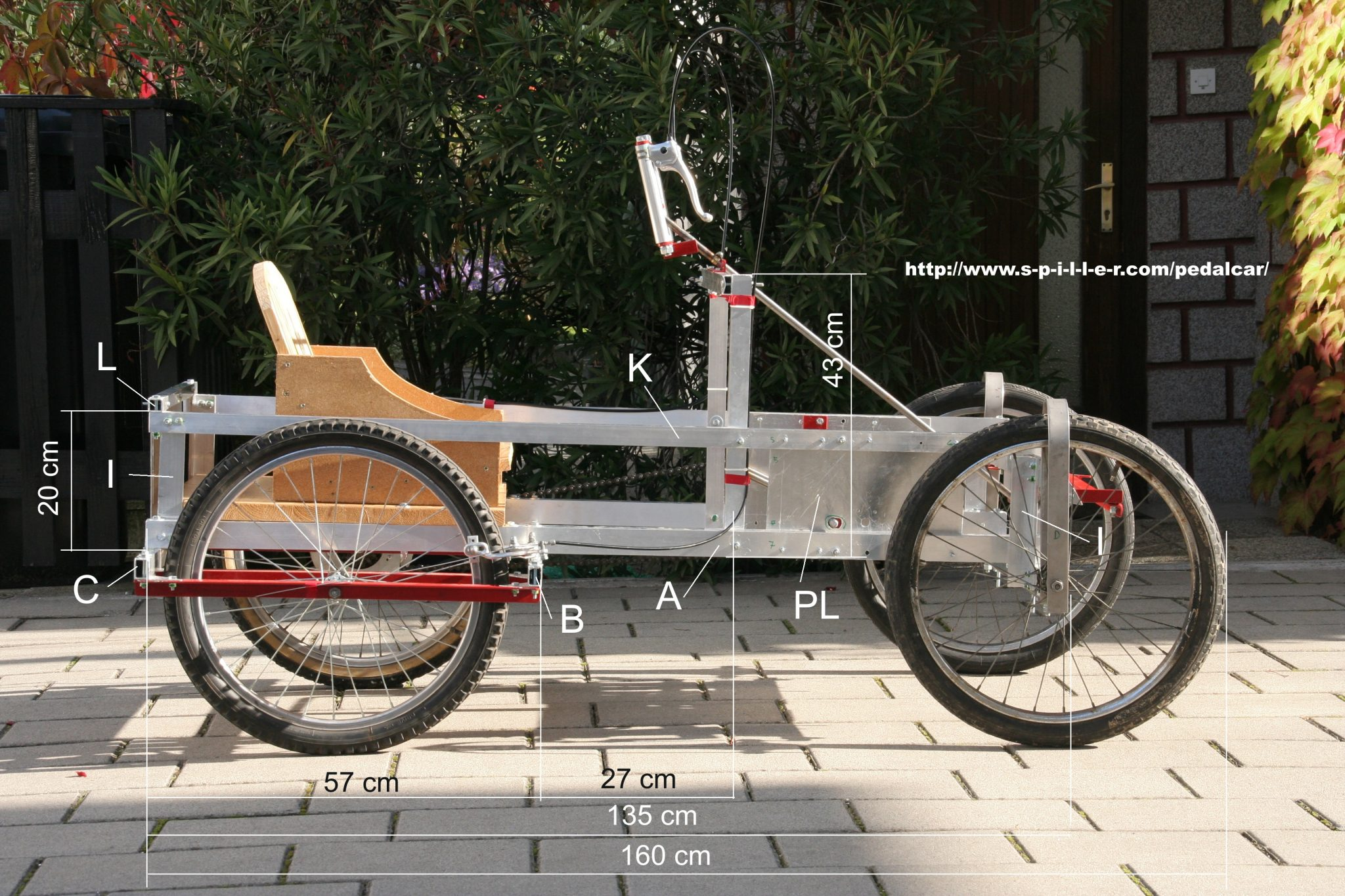 Four Wheel Pushbike