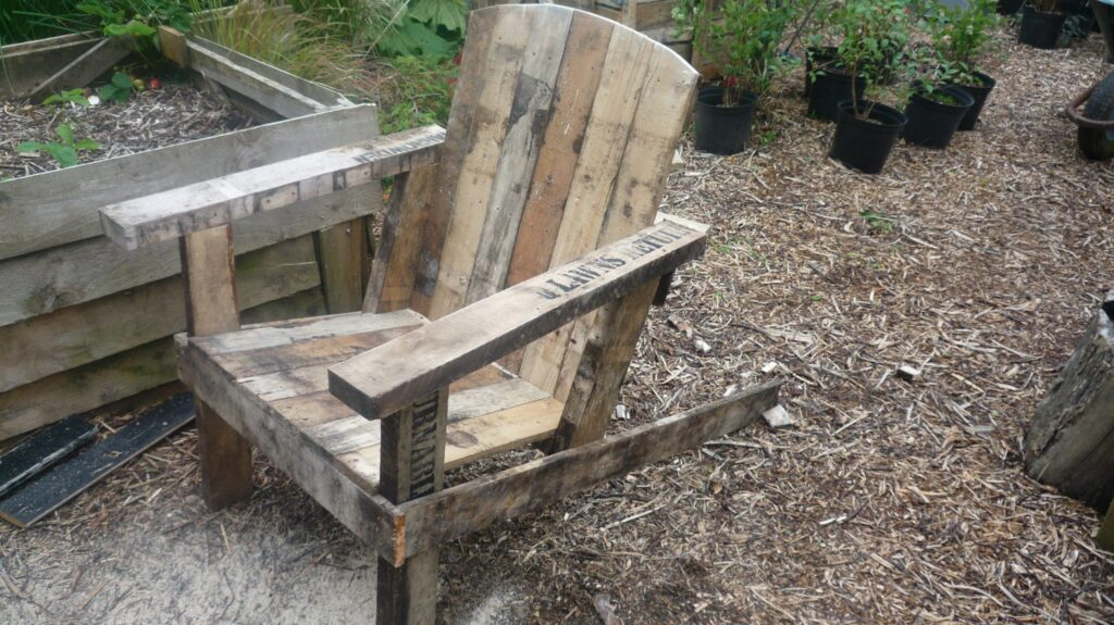 The finished seat