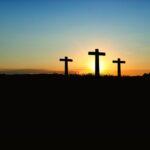 cross-sunset-sunrise-hill