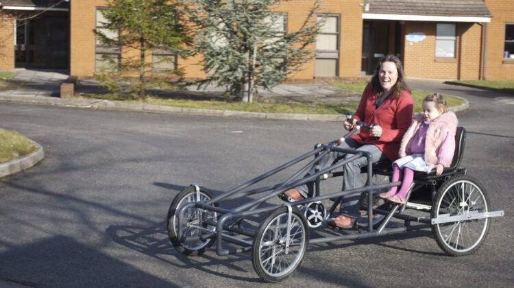 Pederlec 4 wheel bike