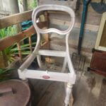An old dining chair