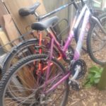 A couple of junk bikes ready for restoration