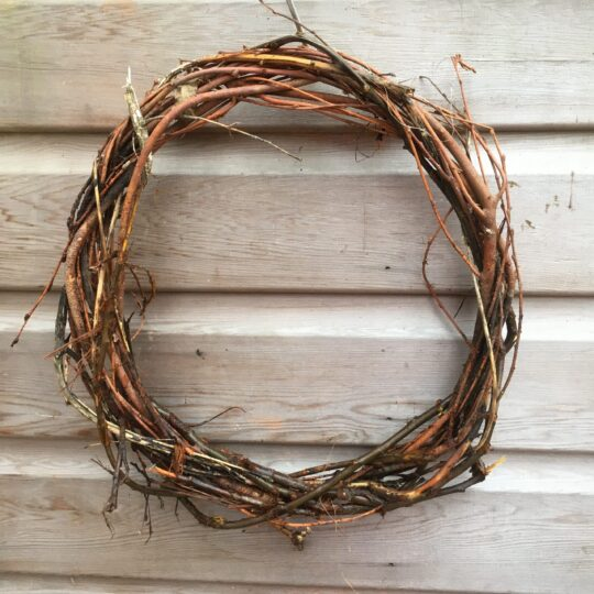 Sustainable Compostable Wreath Base