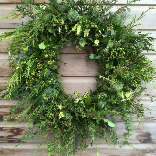Christmas Wreath (Bright)